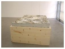Peter Fischli David Weiss <i>Untitled</i> 2003 Concrete 43 x 59 x 10 inches; 110 x 150 x 25 cm