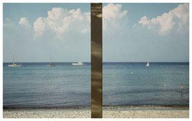<i>Ile Rousse</i>   1976    From the series <i>Kodachrome</i>    Vintage cibachrome   5 1/2 x 10 3/4 inches; 14 x 27 cm