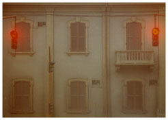 <i>Reggio Emilia</i> 1973    From the series <i>Kodachrome</i>    Vintage c-print    5 x 7 inches; 13 x 18 cm