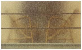 <i>Modena</i>   1973    From the series <i>Kodachrome</i>    Vintage c-print    3 3/8 x 5 5/8 inches; 9 x 14 cm