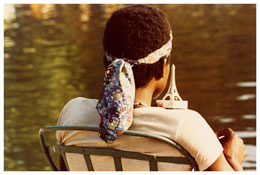 <i>Paris</i>    1972    From the series <i>Kodachrome</i>    Vintage c-print    6 1/2 x 9 3/4 inches; 17 x 25 cm