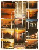 <i>Calvi</i>    1976    From the series <i>Kodachrome</i>    Vintage cibachrome  11 x 8 1/2 inches; 28 x 22 cm