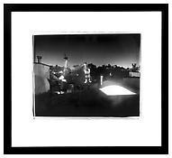 Hirsch Perlman <i>My Reproof #2 (January)</i> 2003 Black and white fiber photo 16 x 20 inches; 41 x 51 cm