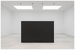 "<i>Maze</i> 1967 Steel, painted black Two units: 6'8"" x 10' x 30"", 203 x 305 x 76 cm Two units: 6'8"" x 5' x 30"", 203 x 152 x 76 cm"