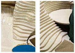 <b>Thomas Demand</b> <i>Haagen Beach  #34, Haagen Beach #44</i> 2011 Pigment Print 2 prints: each 53 1/8 x 35 1/2 inches; 135 x 90 cm