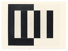 <i>Untitled</i> 1977 Graphite and beeswax on Arches 300lb Torchon (Rough) Natural White paper 22 x 30 inches; 56 x 76 cm
