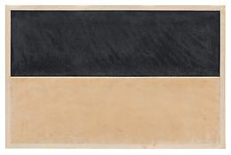 <i>Untitled</i> 1967 Graphite and beeswax on off-white wove paper 26 x 40 inches; 66 x 102 cm