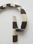 <i>Phrygian Plot</i> (detail) 2012 Inlaid holly and black dyed veneer 60 x 74 x 4 inches; 152 x 188 x 10 cm