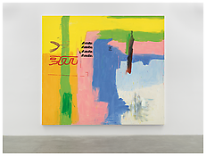 <i>Untitled</i> 2000 Acrylic on cotton 119 1/4 x 133 3/4 inches; 303 x 340 cm