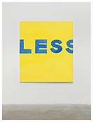 <i>MoM Block Nr. 28</i> 1997 Acrylic on cotton 63 x 55 inches; 160 x 140 cm