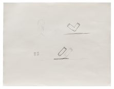 Robert Gober <i>Untitled</i> 1985 Graphite on paper 10 7/8 x 14 inches; 28 x 36 cm