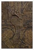 <i>0 - 9 (with Merce's Footprint)</i>, detail, 2009, Bronze, 19 3/16 x 37 3/16 x 1 1/4 inches; 49 x 95 x 3 cm