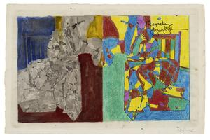 Jasper Johns at The Courtauld Gallery