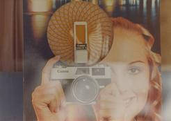 <I>Lucerna</i> From the series <I>Kodachrome</i> and <I>Paesaggi di cartone</i> 1971-72 Vintage c-print 5 1/8 x 7 1/8 inches; 13 x 18 cm