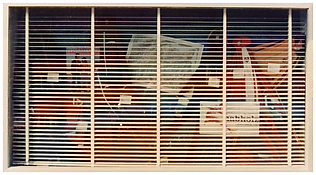 <i>Lucerna</i> From the series <i>Fotografie del periodo iniziale</i> 1972 Vintage c-print 2 3/8 x 4 inches; 6 x 10 cm