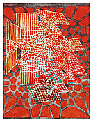 <i>Red Ground</i> 2013 Oil on linen 80 x 60 inches; 203 x 152 cm