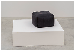 <i>Untitled</i> 2013 Hand-carved polyurethane and acrylic paint, 2 parts 25 1/2 x 45 1/4 x 39 3/8 inches; 65 x 115 x 100 cm