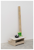 <i>Untitled</i> 2012 - 2013 Hand-carved polyurethane and acrylic paint, 6 parts 60 3/8 x 23 1/4 x 27 inches; 153 x 59 x 69 cm
