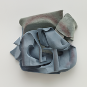 <I>Untitled</i> 2014 Resin clay, acrylic paint 25 x 26 x 10 inches; 64 x 66 x 25 cm