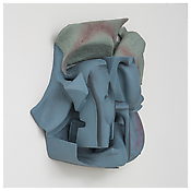 <i>Untitled</i> 2014 Resin clay, acrylic paint    25 x 26 x 10 inches 64 x 66 x 25 cm