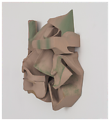 <i>Untitled</i> 2014 Resin clay, acrylic paint    27 x 24 x 8 inches 69 x 61 x 20 cm