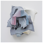 <i>Untitled</i>    2014    Resin clay, acrylic paint    22 x 25 x 11 inches 56 x 64 x 28 cm