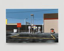 <I>Texaco</i> 1996 Oil on canvas 37 x 57 inches 94 x 145 cm