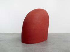 <i>Big Phrygian</i> 2010-2014 Painted red cedar 58 x 40 x 76 inches; 147 x 102 x 193 cm