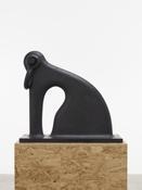 <i>Shackled</i> 2014 Iron 27 1/2 x 30 5/8 x 8 3/8 inches; 70 x 78 x 21 cm
