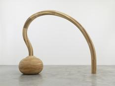 <i>Question</i> 2010 Tulip poplar, pine, ash 90 x 109 1/4 x 34 1/2 inches; 229 x 278 x 88 cm