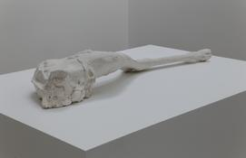 <i>Pattern</i> 2014 Plaster 7 1/4 x 10 7/8 x 40 3/4 inches; 18 x 28 x 104 cm