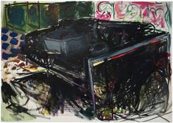 Emily Sundblad <I>Untitled (Couch)</i> 2013 Oil on canvas 26 x 36 inches; 66 x 91 cm