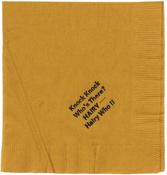 Hyde Park Art Center <i>Hairy Who exhibition cocktail napkin</i> 1966 Printed napkin 4 3/4 x 4 1/2 inches; 12 x 11 cm