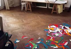 Thomas Demand <I>Atelier</i> 2014 C-print mounted on plexiglas 94 1/2 x 134 1/4 inches; 240 x 341 cm
