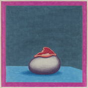 <I>Egg Flower Specimen</i> 1968 Colored pencil on paper 13 1/4 x 12 1/4 inches; 34 x 31 cm