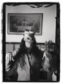 Cary Loren <i>Mike in Trout Mask, Goggles, God's Oasis A2</i> 1975/2011 Gelatin silver print Sheet: 24 x 20 inches; 61 x 51 cm Image: 21 1/4 x 15 1/2 inches; 54 x 39 cm