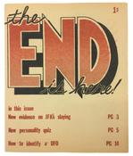 Jim Shaw <i>The End is Here</i> 1977 Mimeograph booklet 8 1/2 x 7 1/4 inches; 22 x 18 cm