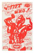 Hairy Who <i>The Portable Hairy Who!</i> 1966 Four-color offset lithograph commercially printed on newsprint 11 x 7 inches; 28 x 18 cm