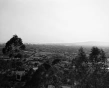 <I>Long Beach from Signal Hill, looking toward Palos Verdes, California</i> 1985 Vintage gelatin silver print Image: 9 x 11 inches; 23 x 28 cm Sheet: 11 x 14 inches; 28 x 36 cm