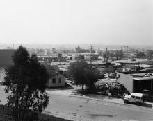 <I>Long Beach, California</i> 1983 Gelatin silver print Image: 8 3/4 x 10 7/8 inches; 22 x 28 cm Sheet: 11 x 14 inches; 28 x 36 cm