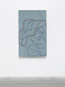<I>Nevis Stele 3</i> 2007-2015 Oil on linen 60 x 36 inches; 152 x 91 cm