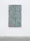 <I>Nevis Stele</i> 2007-2015 Oil on linen 60 x 36 inches; 152 x 91 cm