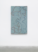 <I>Nevis Stele 2</i> 2007-2015 Oil on linen 60 x 36 inches; 152 x 91 cm