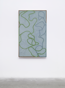 <I>Nevis Stele 5</i> 2007-2015 Oil on linen 60 x 36 inches; 152 x 91 cm