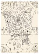 <I>Untitled</i> c. 1968 Ink on glossy paper  25 x 18 inches; 64 x 46 cm