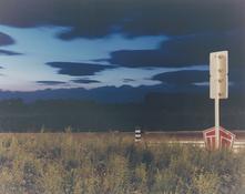 <I>Campogalliano</i> From the series <I>Il profilo delle nuvole</i> 1985 Vintage c-print 14 1/4 x 17 3/4 inches; 36 x 45 cm
