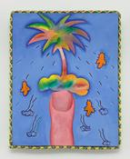 <I>Palm Finger</i> 1968 Oil on canvas 20 1/2 x 16 1/2 inches; 52 x 42 cm