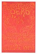 Herb Greene/ Lee Conklin <i>Grateful Dead, Pentangle and Sir Douglas Quintet. February 27- March 2, 1969</i> 1969 Offset lithograph 21 x 14 inches; 53 x 36 cm