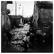 <i>Children Playing in Street, Rome</i> 1958 Gelatin-silver print Image: 14 3/4 x 14 1/2 inches; 37 x 37 cm Sheet: 19 3/4 x 15 3/4 inches; 50 x 40 cm