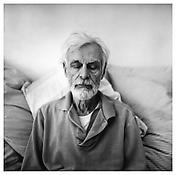 <i>Edwin Denby</i> 1975 Gelatin-silver print 14 3/4 x 14 3/4 inches; 37.5 x 37.5 cm